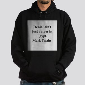 Mark Twain quote Hoodie (dark)