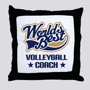 Volleyball Coach Gift Throw Pillow
