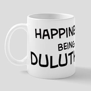 Happiness is Duluth Mug