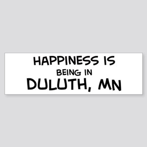 Happiness is Duluth Bumper Sticker