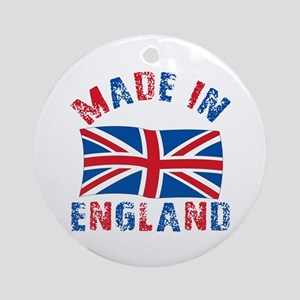 Made In England Ornament (Round)