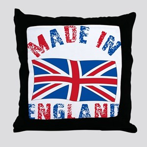 Made In England Throw Pillow
