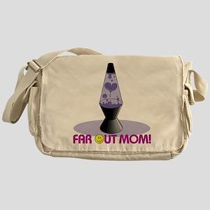 Far Out Mom Messenger Bag