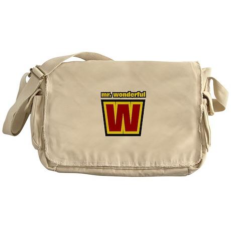 Mr Wonderful Messenger Bag
