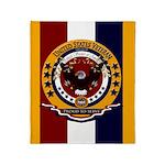 Veteran Proud To Serve Throw Blanket