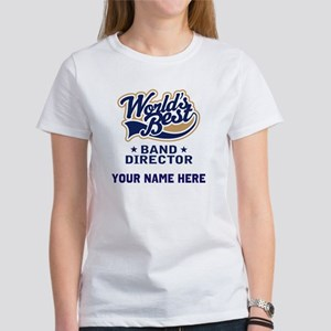 Personalized Band Director Women's T-Shirt