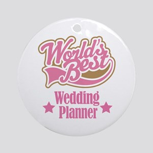 Wedding Planner Gift Ornament (Round)