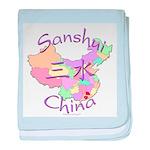 Sanshui China baby blanket