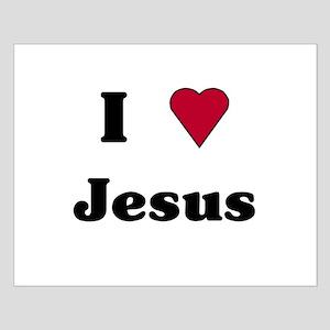"""I Love Jesus"" Small Poster"