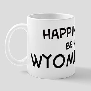 Happiness is Wyoming Mug