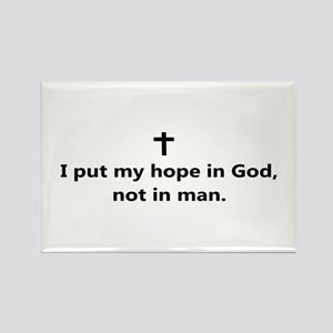 """Hope"" Rectangle Magnet"