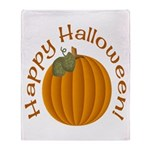 Happy Halloween! Throw Blanket