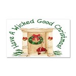 Wicked Good! Christmas Home Car Magnet 20 x 12
