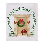 Wicked Good! Christmas Home Throw Blanket