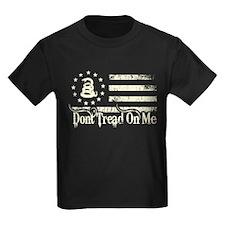 DTOM - Snake Flag Kids Dark T-Shirt