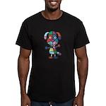 kuuma colorful 1 Men's Fitted T-Shirt (dark)