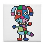 kuuma colorful 1 Tile Coaster