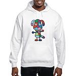 kuuma colorful 1 Hooded Sweatshirt