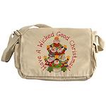 Wicked Good! Christmas Messenger Bag