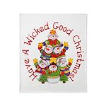 Wicked Good! Christmas Throw Blanket