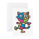 kuuma colorful 2 Greeting Cards (Pk of 10)