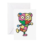 kuuma colorful 4 Greeting Cards (Pk of 10)