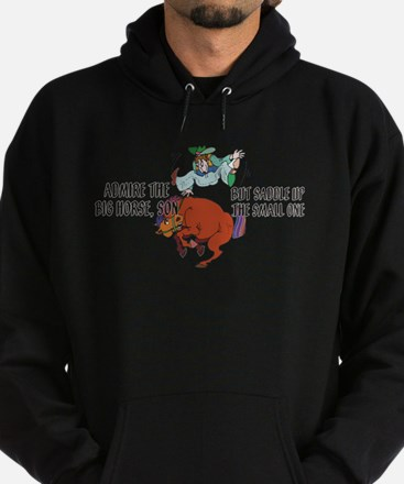 Admire the Big Horse Hoodie (dark)