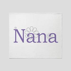 Nana Throw Blanket