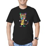 kuuma colorful 5 Men's Fitted T-Shirt (dark)