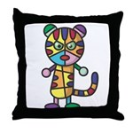kuuma colorful 5 Throw Pillow