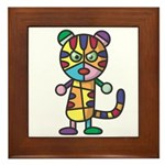 kuuma colorful 5 Framed Tile
