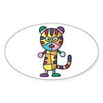 kuuma colorful 5 Sticker (Oval 10 pk)