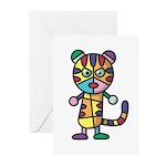 kuuma colorful 5 Greeting Cards (Pk of 10)