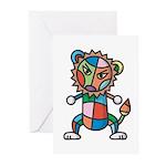 kuuma colorful 6 Greeting Cards (Pk of 10)