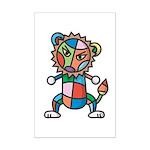 kuuma colorful 6 Mini Poster Print