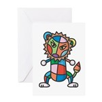 kuuma colorful 6 Greeting Card