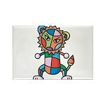 kuuma colorful 6 Rectangle Magnet (10 pack)