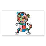 kuuma colorful 6 Sticker (Rectangle 10 pk)