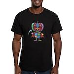 kuuma colorful 7 Men's Fitted T-Shirt (dark)