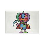 kuuma colorful 7 Rectangle Magnet (10 pack)