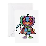 kuuma colorful 7 Greeting Cards (Pk of 10)