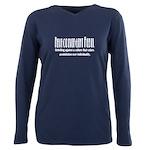 Neurodivergent Rebel Plus Size Long Sleeve T-Shirt