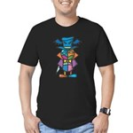 kuuma colorful 9 Men's Fitted T-Shirt (dark)