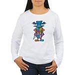 kuuma colorful 9 Women's Long Sleeve T-Shirt