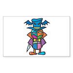 kuuma colorful 9 Sticker (Rectangle 10 pk)