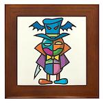 kuuma colorful 9 Framed Tile
