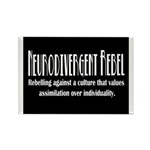 Neurodivergent Rebel Magnets