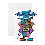 kuuma colorful 9 Greeting Cards (Pk of 10)