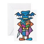 kuuma colorful 9 Greeting Card