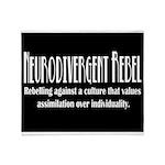 Neurodivergent Rebel Premium Throw Blanket